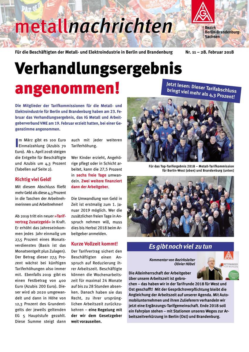 Meldungsarchiv Ig Metall Ostbrandenburg